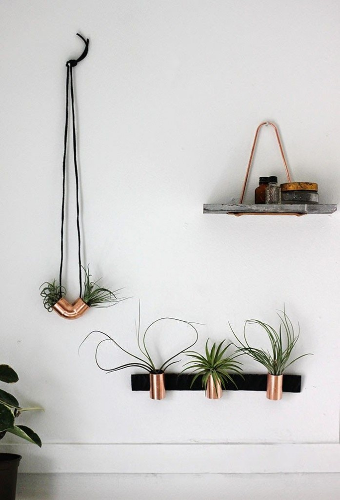 Neat - Poppy Talk Copper Planters
