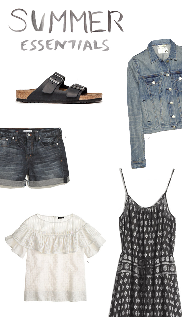 Style Bee - Closet Mission - Summer Essentials