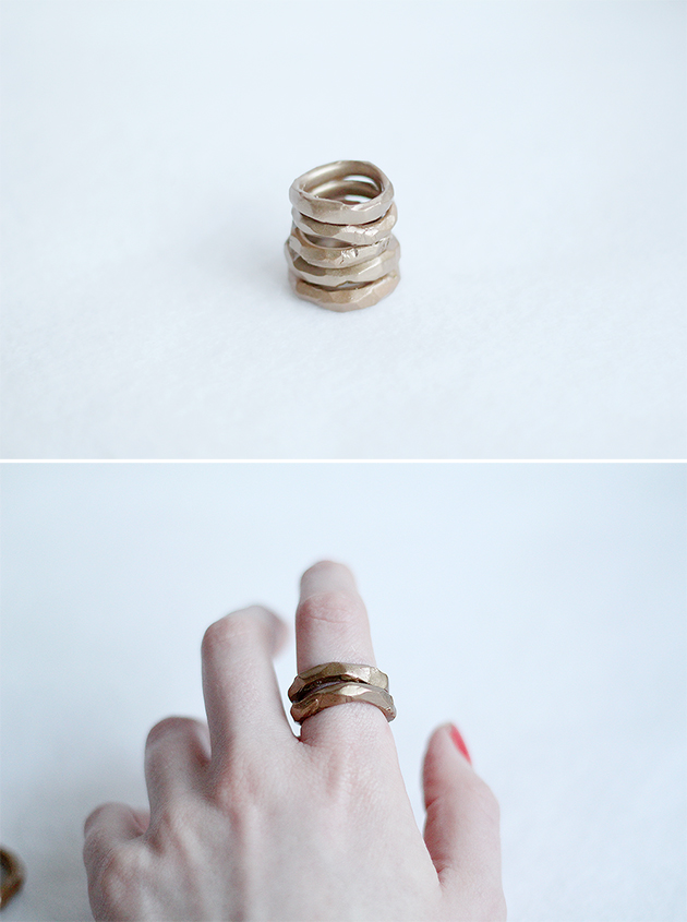 Style Bee's Knees #30 - Fall For DIY Rings