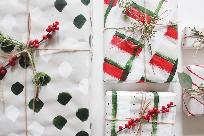Style Bee - DIY - Gift Wrap