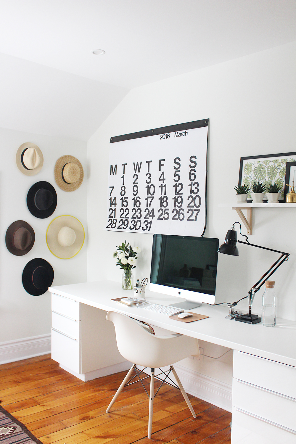 Home Office Reveal - Style Bee