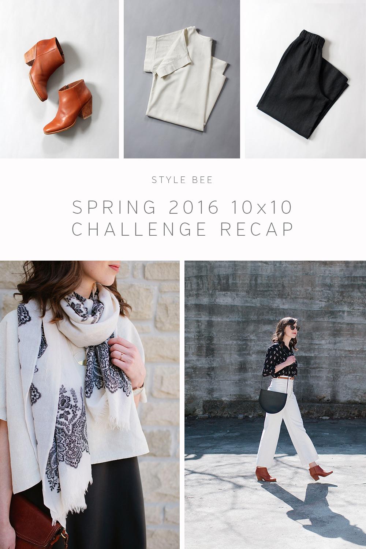 Style Bee Spring 10 x 10 Recap