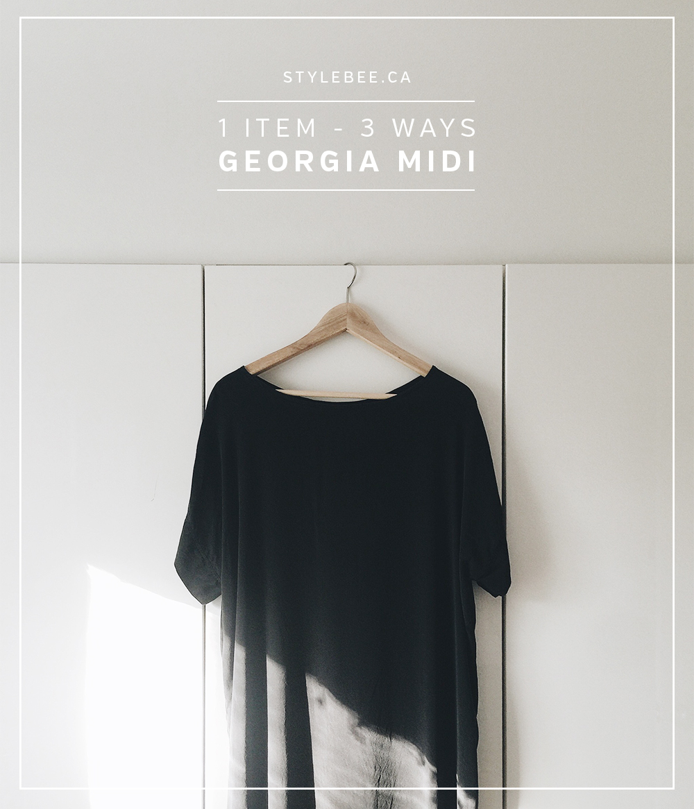 Style Bee - 1 Items - 3 Ways - Georgia Midi