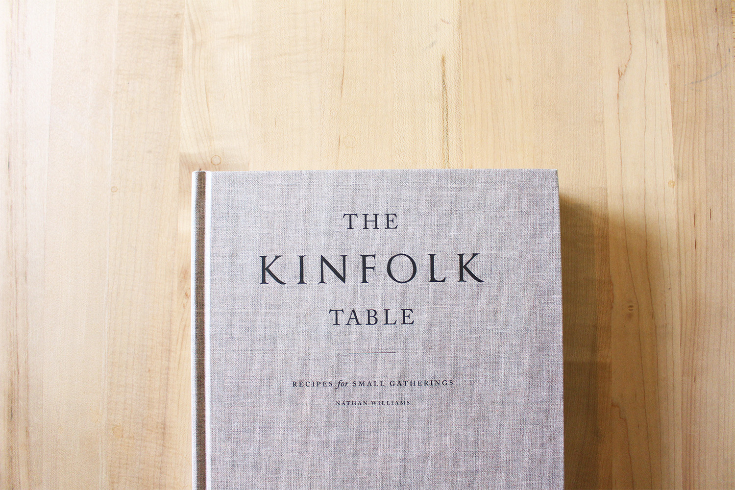 Style Bee - The Kinfolk Table Cookbook