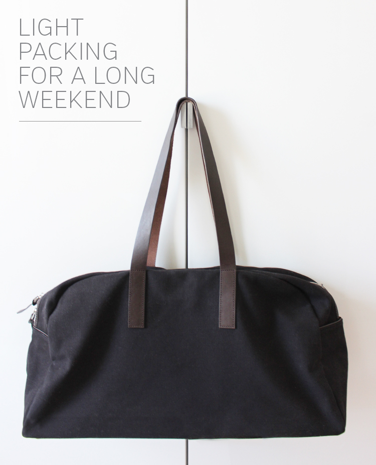 Style Bee - Light Packing - Everlane Weekender