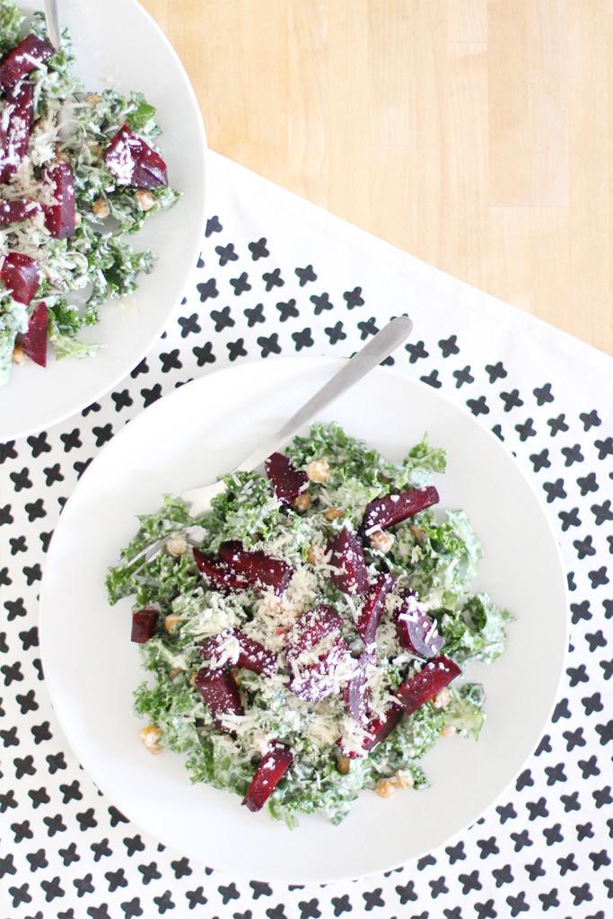 Style Bee - Kale Caesar Recipe