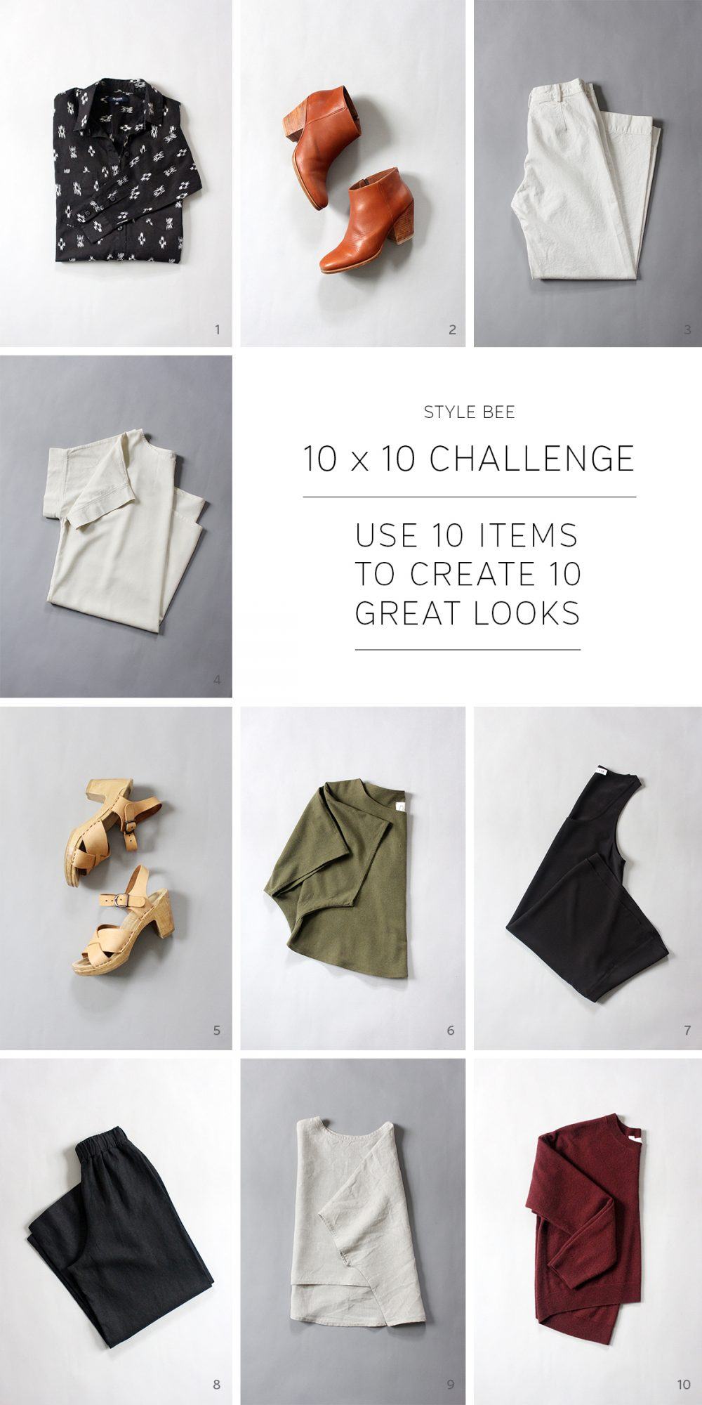 Style Bee - Spring '16 - 10 x 10 Challenge