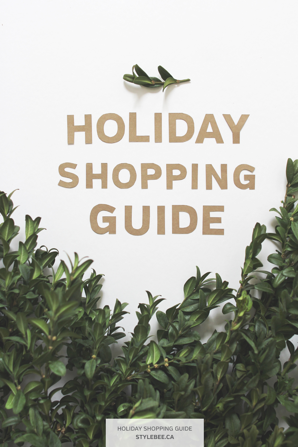 Style Bee - 2016 Holiday Shopping Guide