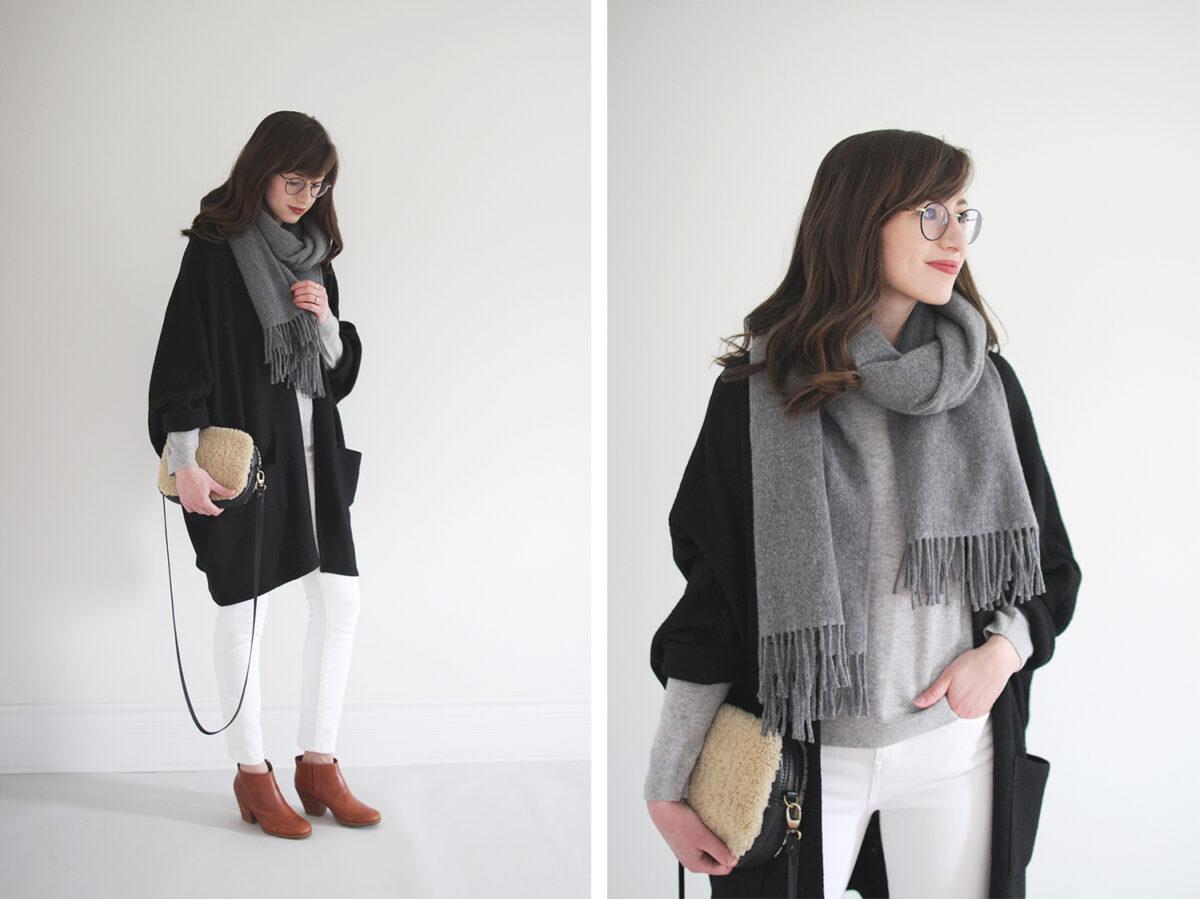 Style Bee - Grey on Grey + White