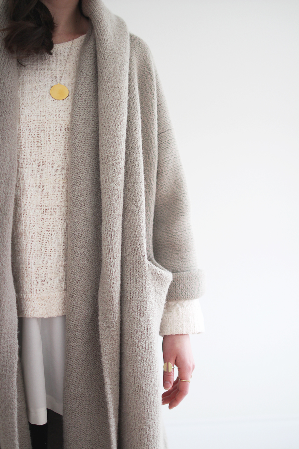 Style Bee - T-Sweater + Ponte Pant