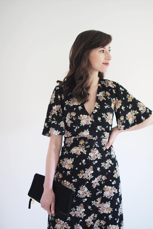 Style Bee - Formal Looks - Wrap Dress