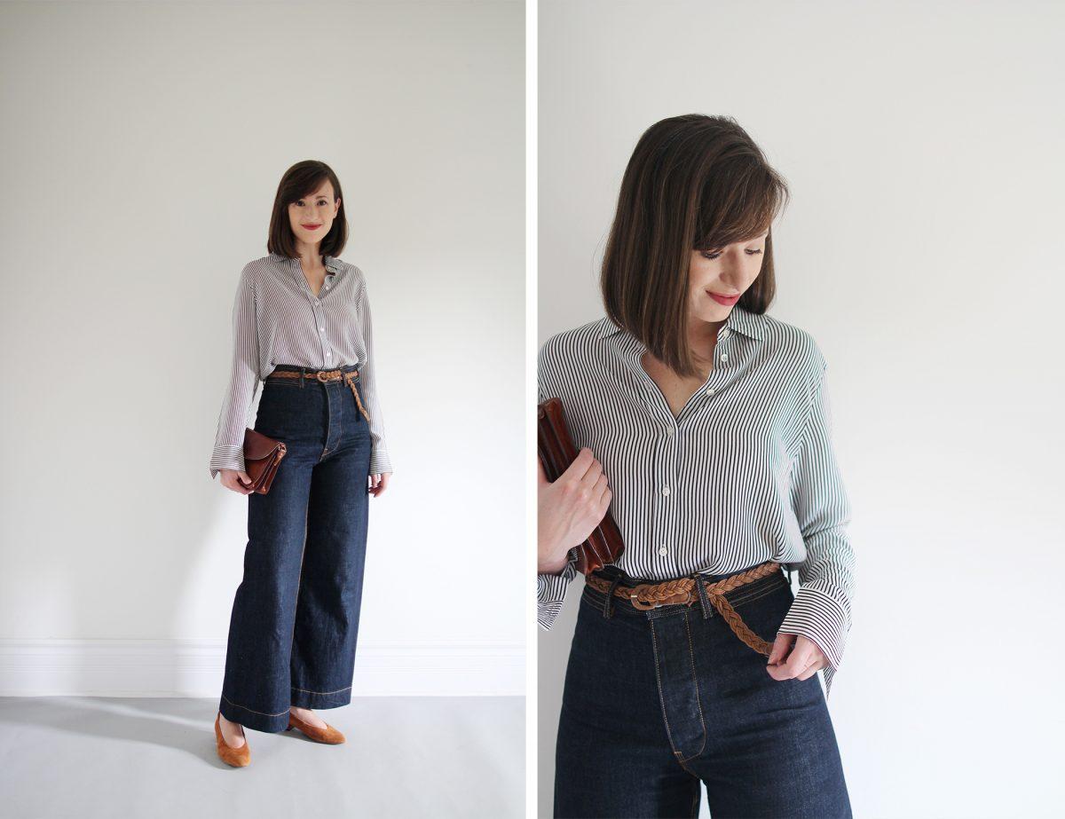 Style Bee - Striped Silk - 3 Ways