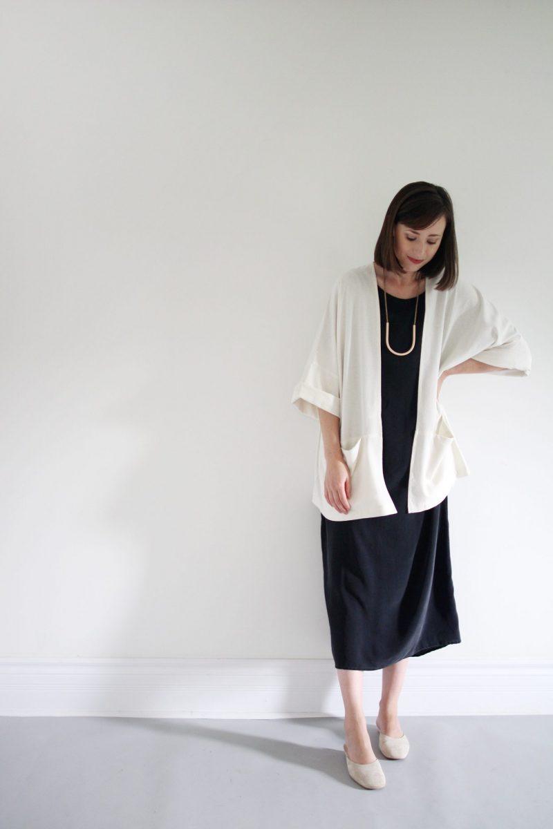 Style Bee - J+J Wide Leg Pant + Haori Jacket