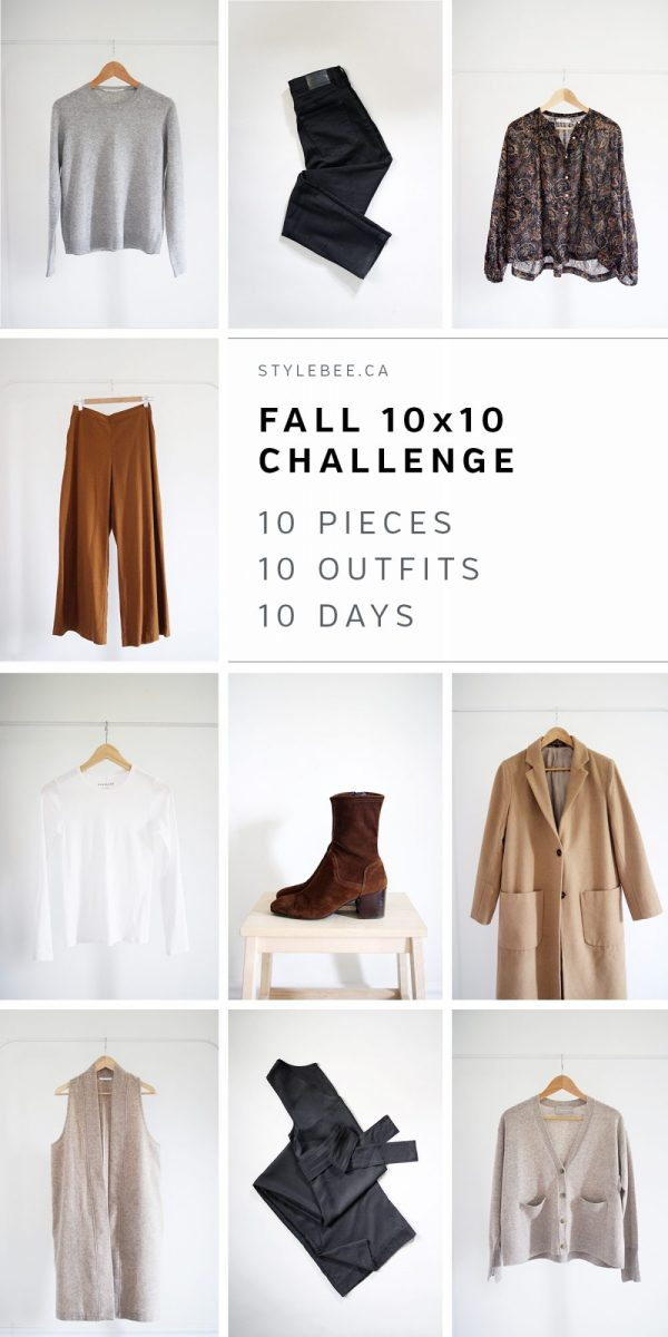 Style Bee - 10x10 Challenge - Fall 2018