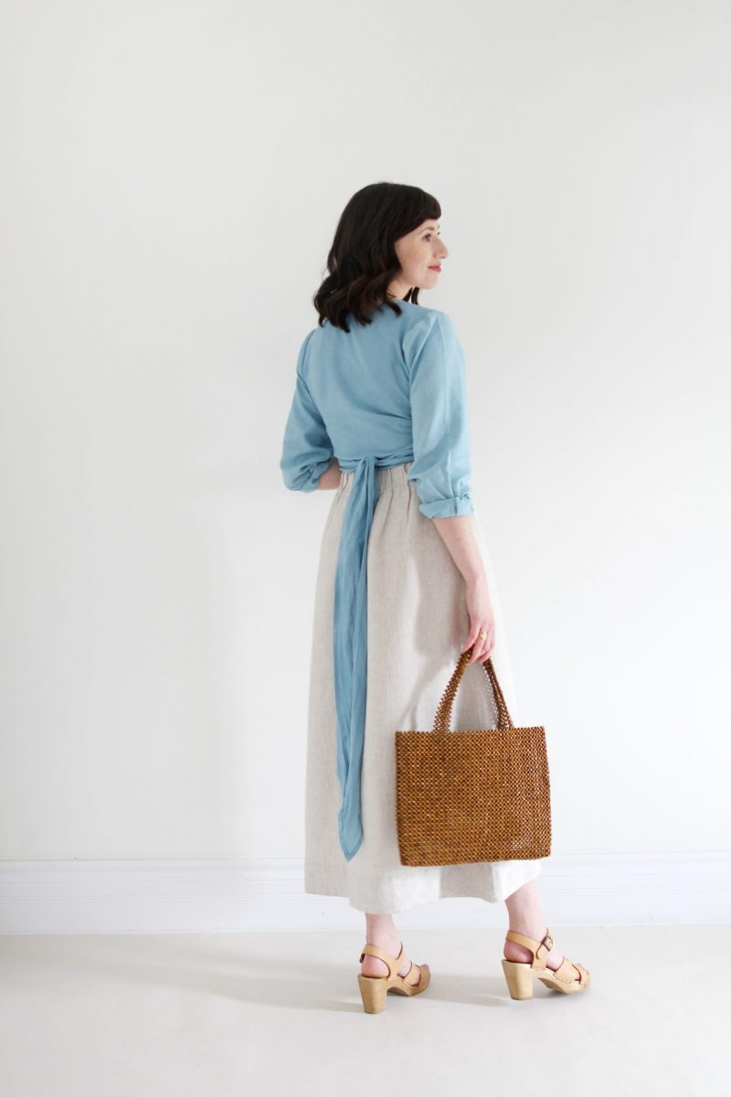 Style Bee - Item Spotlight: Thea Wrap Top By EMLEE